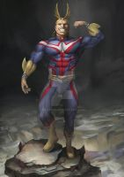 All Might! by Ripsta22