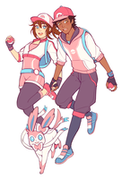 Trainers by starpotion