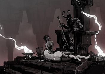 Throne room by Ecthelion-2