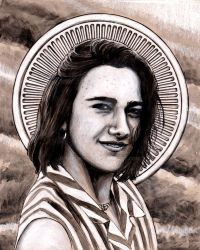 Blessed Chiara Badano by Theophilia