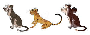 Odd Cheetah Auction (CLOSED) by Claire-Cooper