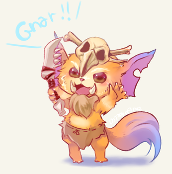 Gnar by MizoreAme