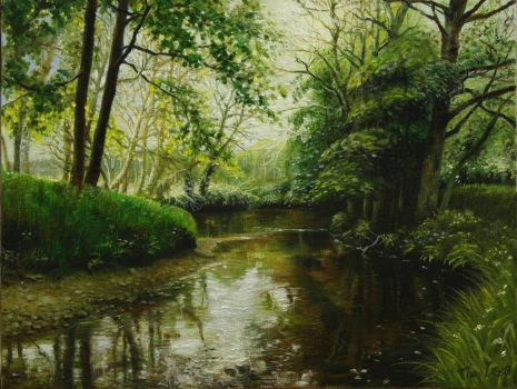 Creek_Spring_02 by ThaoArts