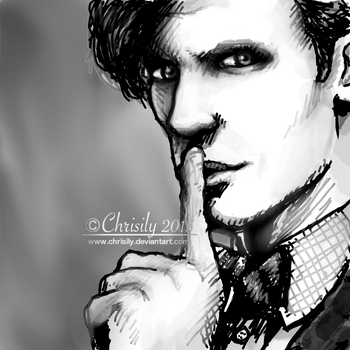 Chrisily 28 0 11th Doctor Sketch By