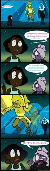 Hot Yellow Mama - SU comic by Daniel-Gleebits