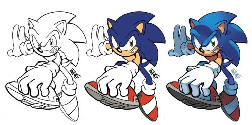 Inks-to-Colors Sonic by herms85