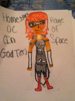 My Homestuck OC In God Tier by daughterofathena099