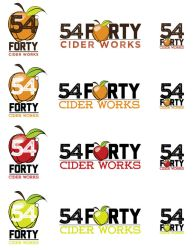 54-40 Cider Logo by filly4585