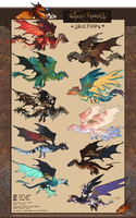 Wyvern Rookery Oct17 AUCTION (CLOSED) by Arukanoda
