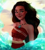 Moana by cosmogirll