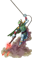 Totally Fett Up by InvaderKeith