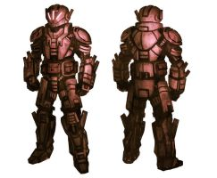 Sci_fi armor design 1 by Howi3
