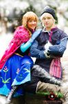 FROZEN - Anna  and kristoff by dieyoung22