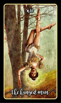 12 The Hanged Man by Aramourn
