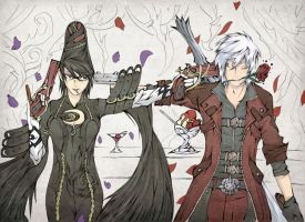 Slayers in company by Antiiheld
