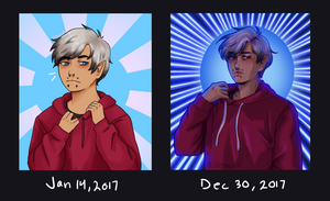 Jan 14 vs Dec 30 2017 by kittenwalk