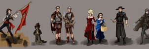 Night Watch Color Cast Lineup by plangkye