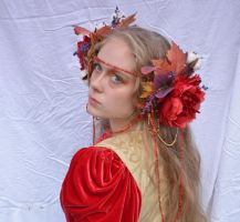 Lady of Fall 9 by RachgracehStock