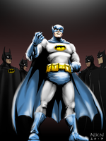 Adam West - Batman tribute by Nikunja