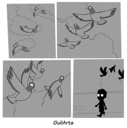 Doves attack by Guilarts