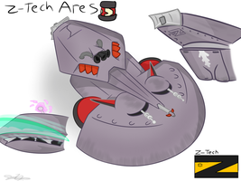 Z-Tech Ares by Nyanbonecrush