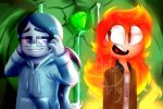Fire Max and Water Dane by Dane-elle