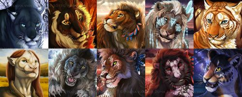 A lot of icons 2 by NadiavanderDonk