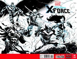 X Force blank cover by denart