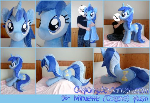 35 inch Minuette (Colgate) plush by qtpony