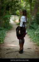 A long path by Coleria