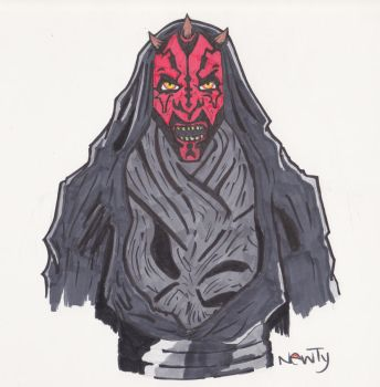 Darth Abdomin by GnarlyNewty