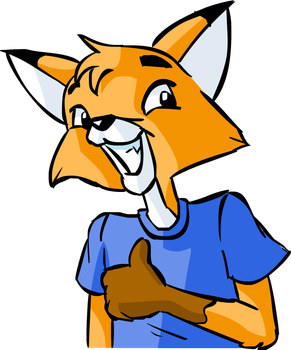 Buster the Fox - test by Fificat