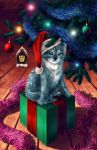Festive Kitty by Nalciel
