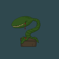 Meat eating plant - Version 2 by LordVanDemon