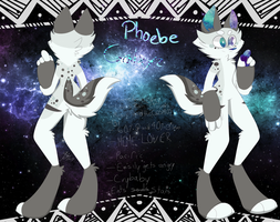 Phoebe full ref sheet by SquizzyMagoSpots