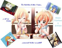 my montage for anime breakfast by Liliane197