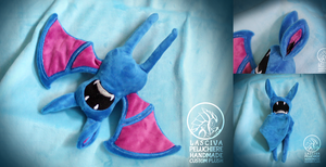 Zubat custom plush by Peluchiere