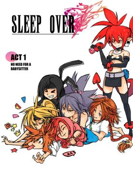 SleepOver: Act 1 by OverlordJC
