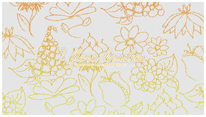 7 Flora Brushes by acidmii-stock