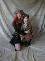 Pirate Captain and Child 3 by mizzd-stock