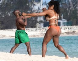 Serena Williams Fight by lowerrider