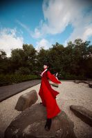 Do you wanna fight? Avatar: The last Airbender Mai by TheWisperia