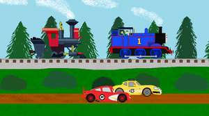 The Race Of A Crossover by BlueEngineLiz6