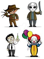 SD Horror Icons by ZombieGirl01