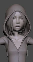 Red Riding Hood Face by screenlicker