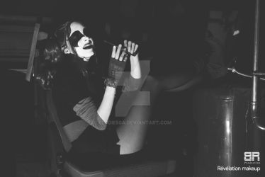 Harley Quinn Black And White by elodie50a