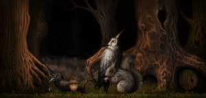 Acorn the Game by ironwool