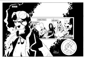 Hellboy and the BPRD by Mooneyham
