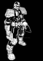 Judge Dredd by mansloth