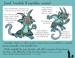 Frogoblim Jared Reference Sheet by meggyc